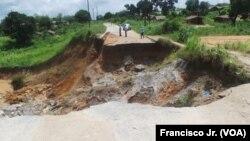 Governo de Nampula incapaz de enfrentar a erosão
