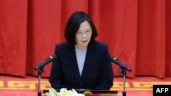 台灣總統蔡英文在台灣新北市講話(2018年1月4日)