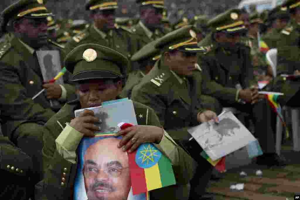 Askari haysta sawirka Meles