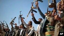 تصویر آرشیوی از نیروهای وفادار به حوثی ها