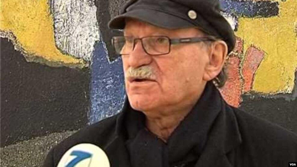Vdes piktori dhe akademiku Gjelosh Gjokaj