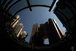 A general view of luxury residential apartments The Arch at the reclaimed West Kowloon in Hong Kong, Oct. 25, 2013.