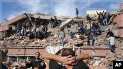 10月23号土耳其发生强烈地震