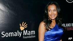 Bà Somaly Mam tại một buổi lễ của tổ chức Somaly Mam Foundation ở New York