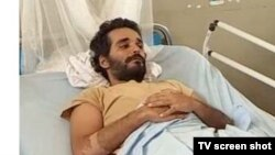 Luaty Beirão esteve em greve de fome durante 36 dias