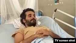 Le rappeur enagagé angolais Luaty Beirao a mené une grève de faim de 36 jours pour protester contre sa détention à Luanda, octobre 2015.