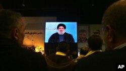 El líder de Hezbollah, jeque Hassan Nasrallah, admite haberse reunido con el presidente sirio, Bashar al-Assad.