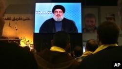 Hezbollah leader Sheikh Hassan Nasrallah. (File)