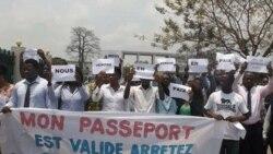 La police a de nouveau dispersé des manifestants à Kinshasa