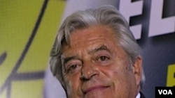 """El candidato del Partido Nacional, Luis Alberto Lacalle, apuesta al """"equilibrio"""" entre las fuerzas políticas."""
