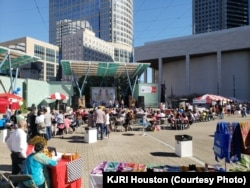 Warga Houston Nikmati Festival Indonesia (Courtesy: KJRI Houston)