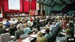 Zasedanje parlamentarne skupštine OEBS u Beogradu, 8. jul, 2011.