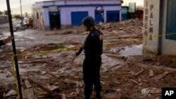 20 muertos dejaron las graves inundaciones en el norte de Chile.