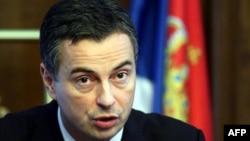 Guverner Narodne banke Srbije Dejan Šoškić govori na konferenciji za novinare o makroekonomskim i monetarnim kretanjima.