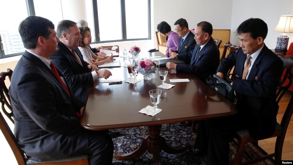 Помпео: на переговорах с делегацией КНДР достигнут значительный прогресс