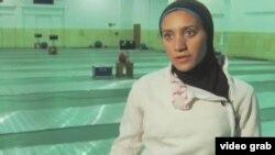 埃及五项全能女选手备战奥运