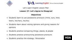 Lesson Plan - Lesson 37