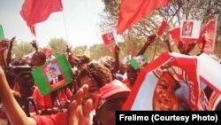 Campanha Filipe Nyusi, candidato Frelimo (Milange, provincia da Zambezia)