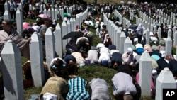 ວັນຄົບຮອບ 20 ປີ ການສັງຫານໝູ່ ຢູ່ Srebrenica