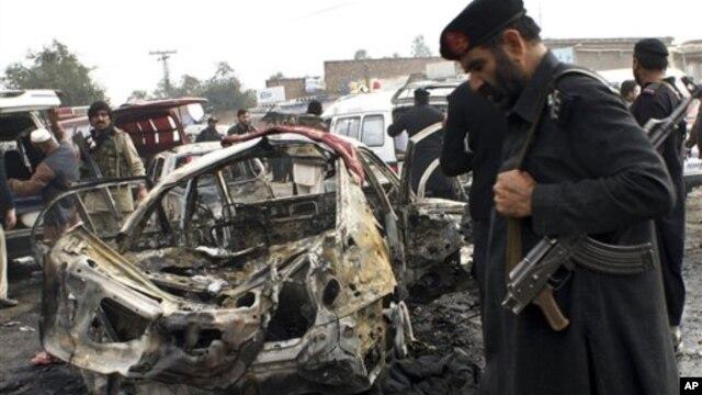 Mesto napada u pokrajini Kajber