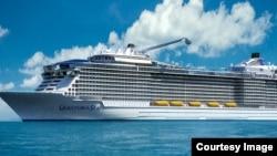 皇家加勒比公司海洋量子号游轮