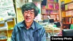 銅鑼灣書店店長林榮基在內地被扣8個月後返港(蘋果日報圖片)