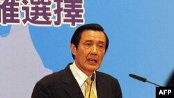 台湾总统马英九星期二度过60岁生日