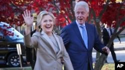 Amai Hillary Clinton naVaBill Clinton