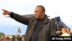 Shugaban Kenya, Uhuru Kenyatta
