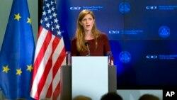 La embajadora tuvo grandes elogios para los países que tienen personal luchando contra la epidemia, incluida Cuba