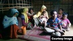 Samsun Nahar, janda dengan 9 anak sedang mencarikan jodoh untuk dua anak perempuannya yang berusia 13 dan 14 tahun. (foto: dok)