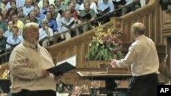 Proba zbora Mormon Tabernacle
