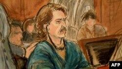 Виктор Бут в зале федерального суда в Нью Йорке