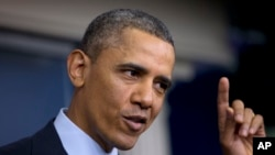 Ông cho biết ông đã chủ động tiếp xúc với các chính khách Cộng hòa và Dân chủ.