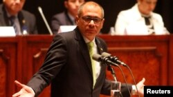 El vicepresidente de Ecuador, Jorge Glas, enfrenta pedidos de diferentes sectores para que renuncie al cargo.