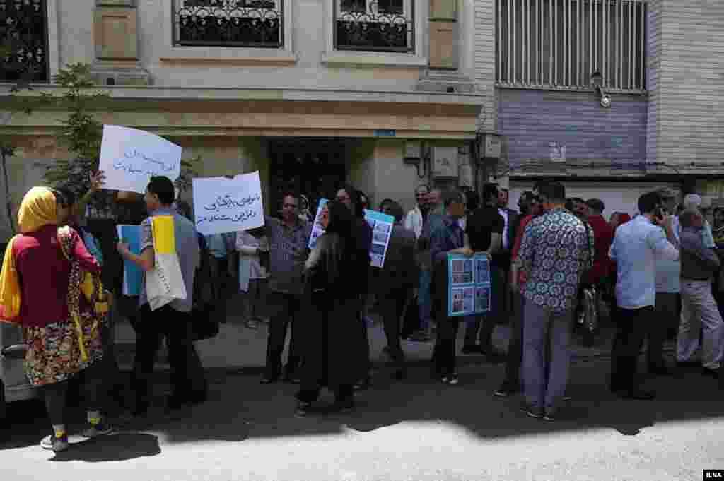 مستندسازان خواستار بازگشایی دفتر انجمن مستندسازی در تهران هستند. عکس: محمدرضا جنیدی فرد