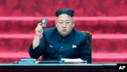 FILE - Kim Jong-un