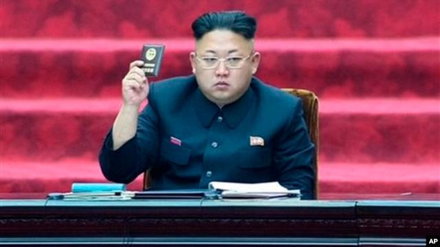FILE: North Korean leader Kim Jong Un