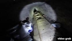 La droga era transportada en paquetes pequeños para que pudiera pasar a través del hoyo que se encontraba del lado estadounidense.