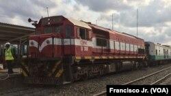 Comboio da empresa Caminhos de Ferro de Moçambique
