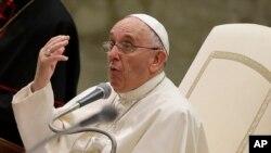 Le pape François (AP Photo/Gregorio Borgia)