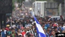 Migran ondiryen ki ale o Gwatemala avèk espwa yo va travèse tèritwa meksiken an pou yo antre o Zetazini.