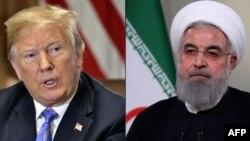 도널드 트럼프 미국 대통령과 하산 로하니 이란 대통령.