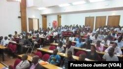 Participantes do programa Férias Desenvolvendo o Distrito