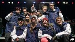 Члены олимпийской сборной США 2014