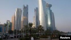 نمایی از دوحه پایتخت قطر