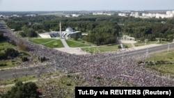 Protestë në Minsk