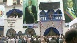 Venezuelans Mourn Former President Carlos Perez