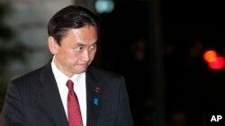 후루야 게이지 일본 납치문제 담당상 (자료사진)