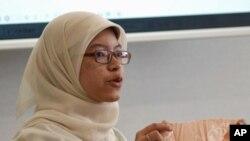日本立命馆亚洲太平洋大学印尼留学生娜迪拉